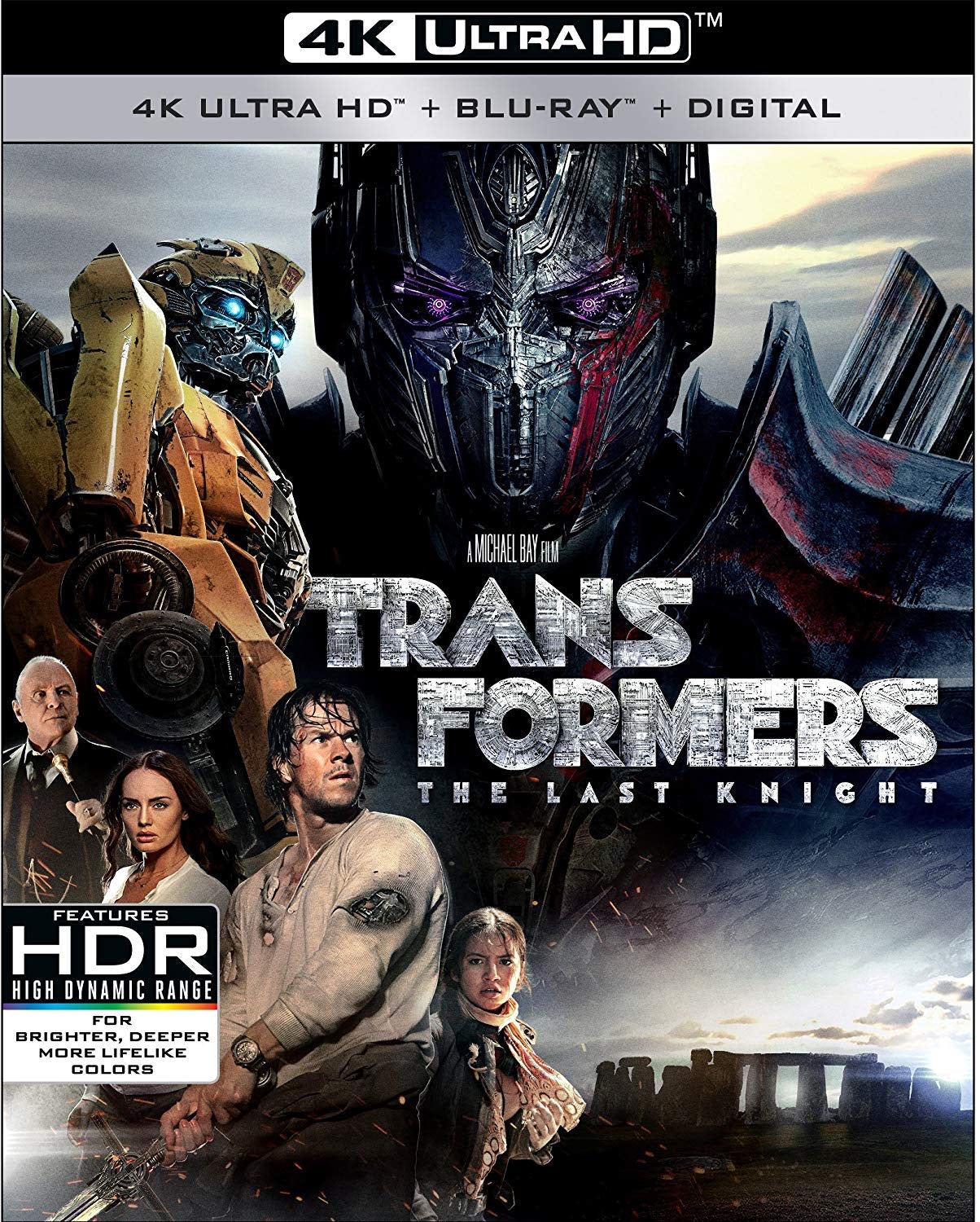 Transformers: The Last Knight (2017) Vudu 4K redemption only