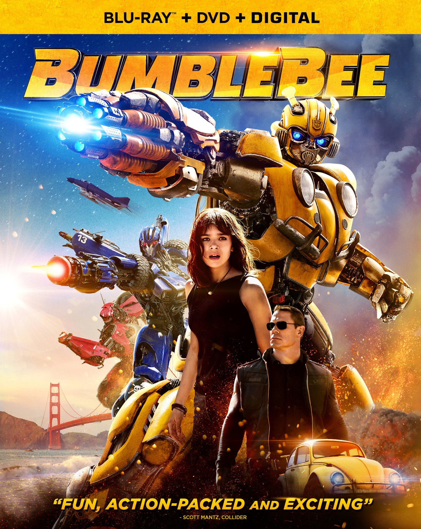 Bumblebee (2018) Vudu HD redemption only