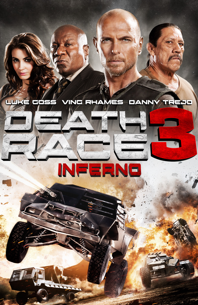 Death Race 3 (unrated) vudu HD code