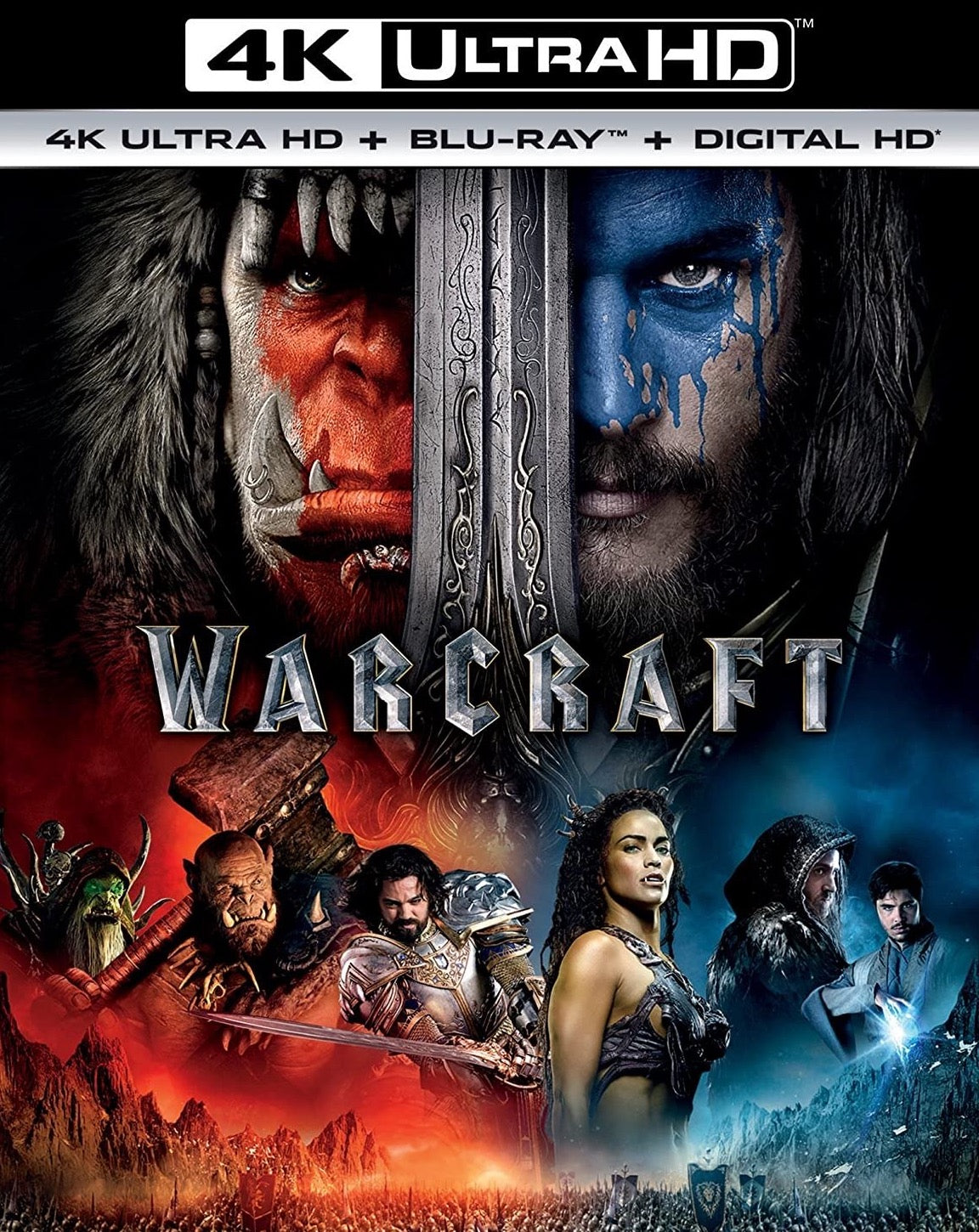 Warcraft iTunes 4K redemption only