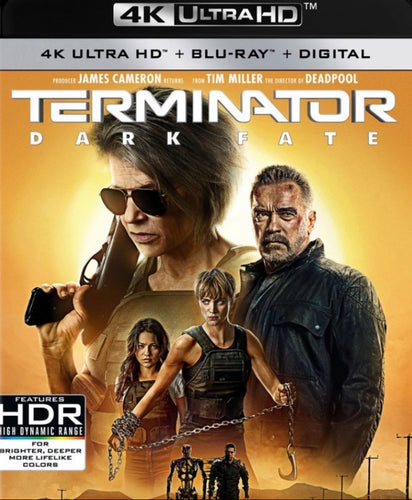 Terminator Dark Fate (2019) iTunes 4K redemption only