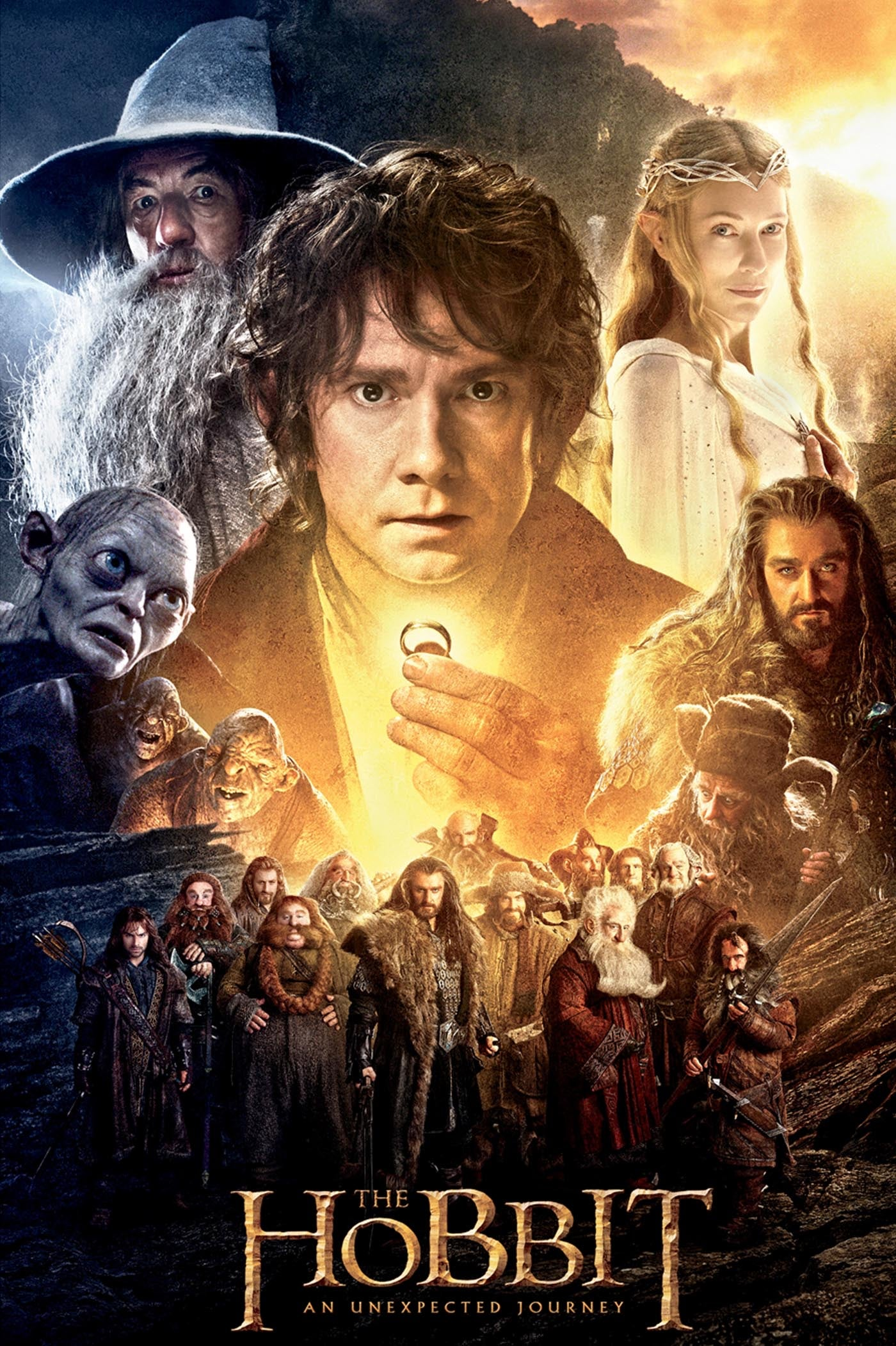 The Hobbit: An Unexpected Journey (2012) Vudu or Movies Anywhere HD code