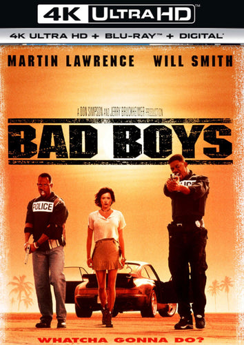 Bad Boys (1995) Movies Anywhere 4K code