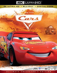Cars (2006) Vudu or Movies Anywhere 4K redemption only
