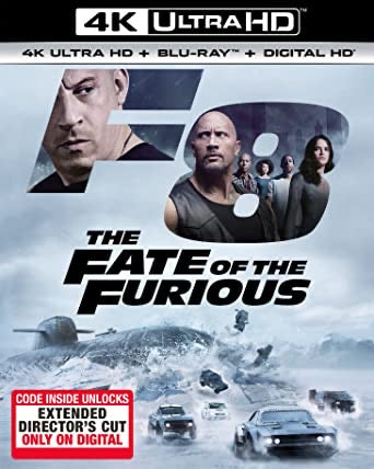The Fate of the Furious (2017: Ports Via MA) [Theatrical + Extended Versions] iTunes 4K code