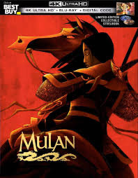 Mulan (1998) Vudu or Movies Anywhere 4K redemption only