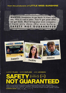 Safety Not Guaranteed Movies Anywhere HD code