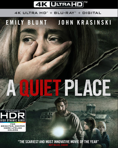 A Quiet Place (2018) Vudu 4K redemption only