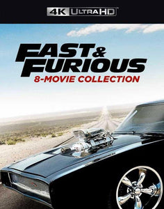 Fast and the Furious 8 Movie Collection iTunes 4K redeem only