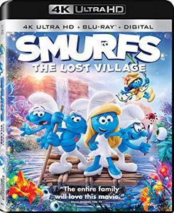 Smurfs: The Lost Village Movies Anywhere 4K code