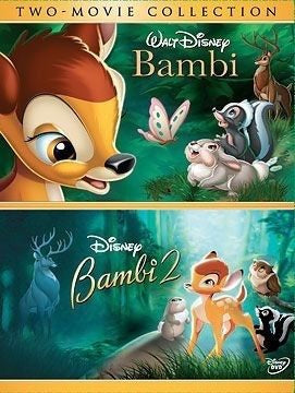 Bambi Collection Vudu or Movies Anywhere HD redeem only