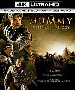 Mummy Trilogy Vudu or Movies Anywhere 4K redeem only