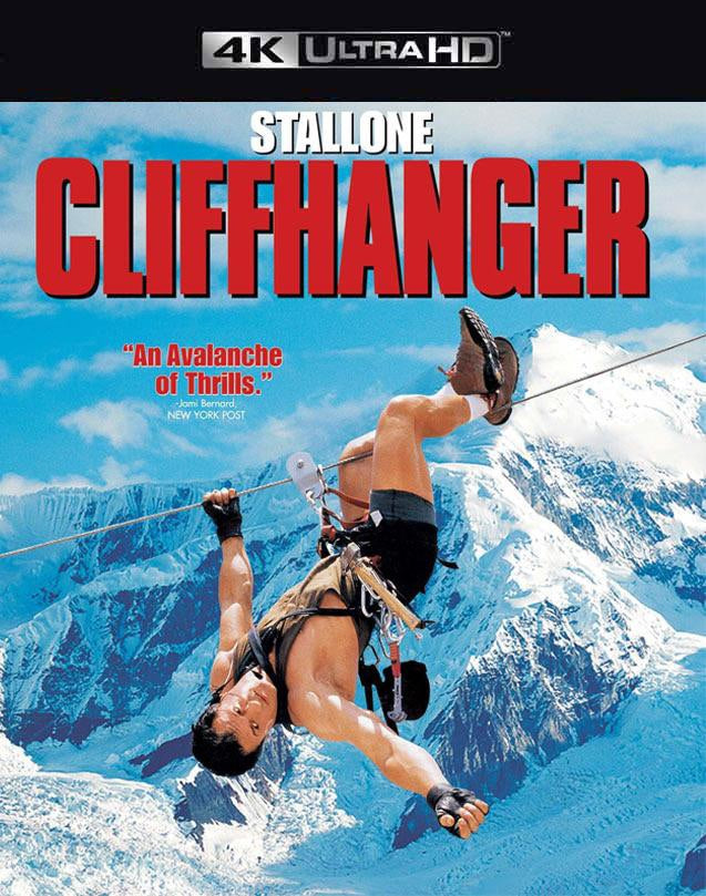 Cliffhanger Movies Anywhere 4K code
