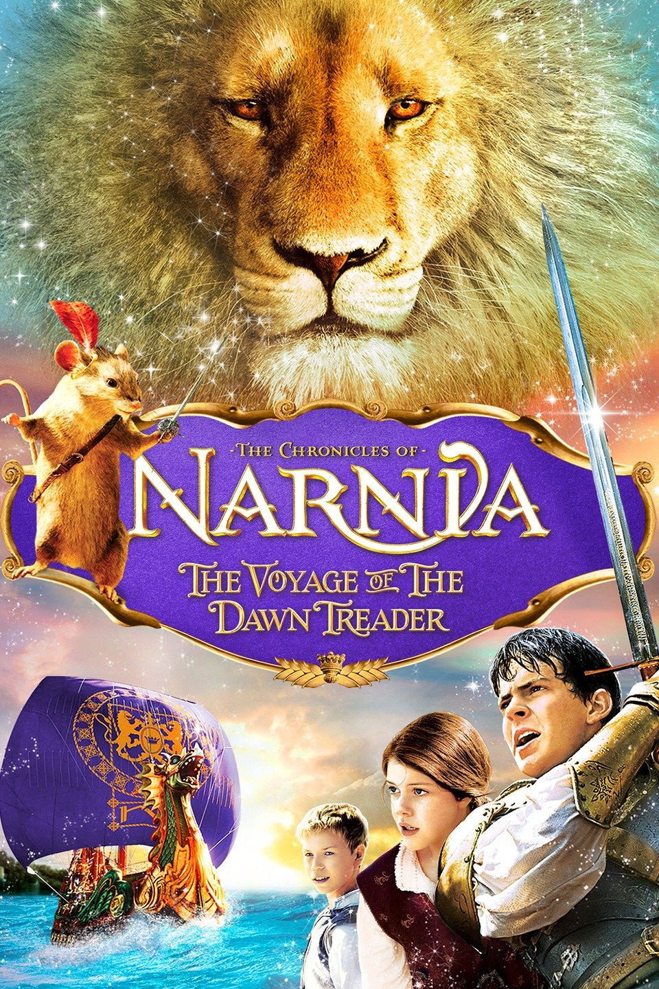 Chronicles Of Narnia: The Voyage Of The Dawn Treader Vudu or Movies Anywhere HD code