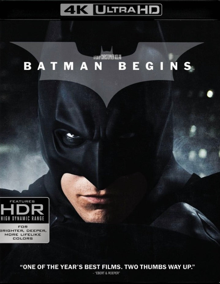 Batman Begins (2005) Vudu or Movies Anywhere 4K code