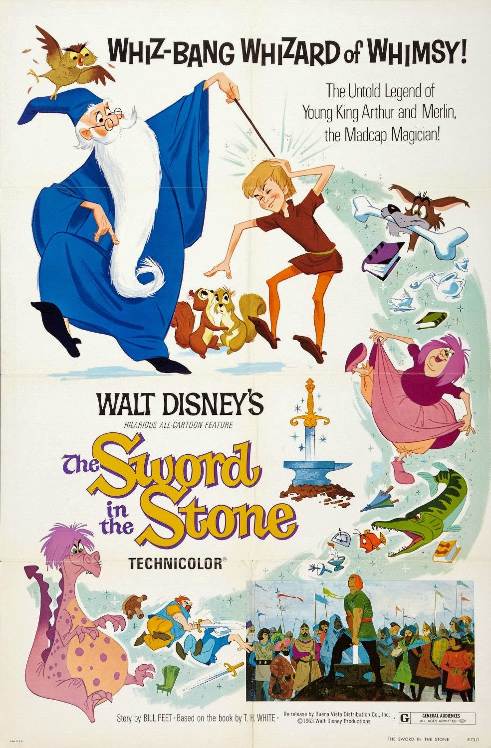 The Sword In The Stone (1963) Google Play HD redeem only