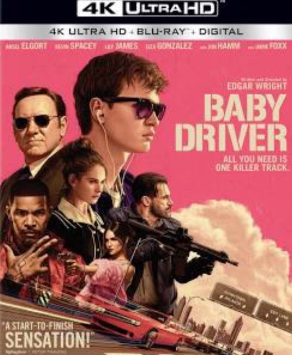 Baby Driver Vudu or Movies Anywhere 4K code
