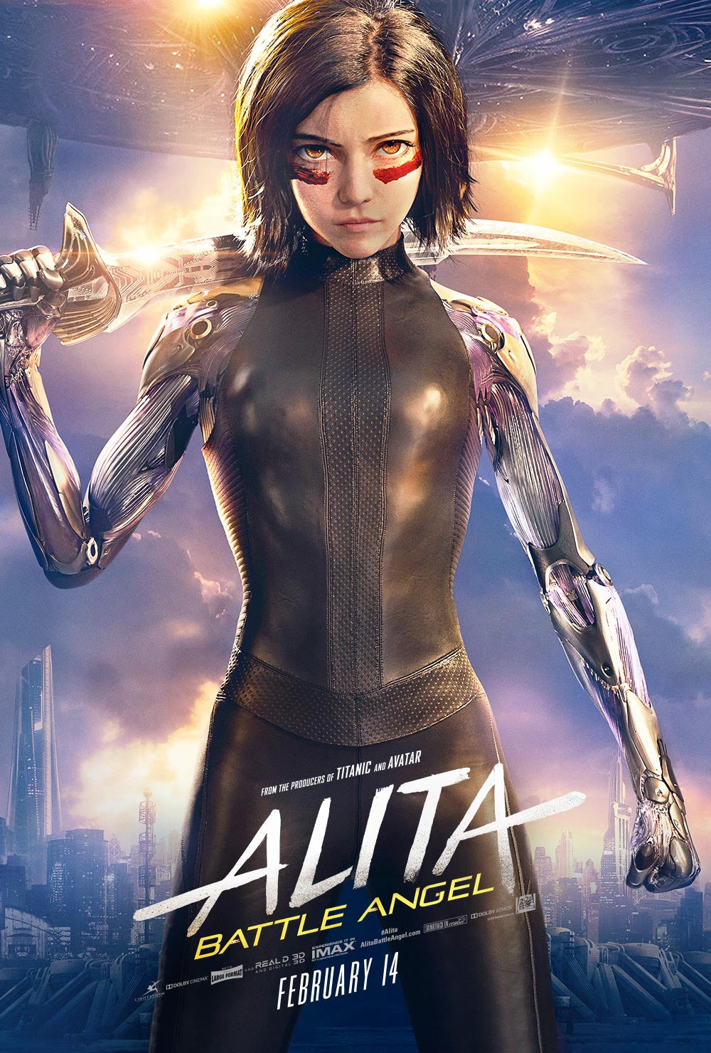 Alita: Battle Angel (2019) Vudu or Movies Anywhere HD code