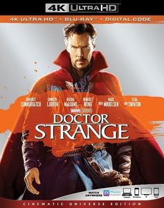 Doctor Strange (2016) Vudu or Movies Anywhere 4K redemption only