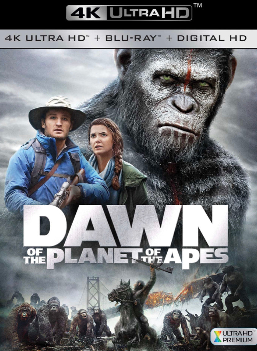Dawn Of The Planet Of The Apes (2014) iTunes 4K or Vudu / Movies Anywhere HD code
