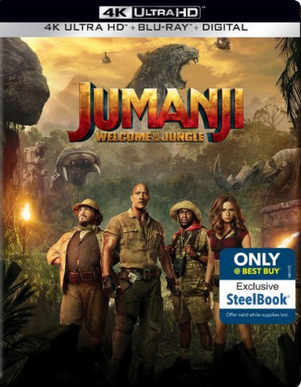 Jumanji: Welcome to the Jungle Vudu or Movies Anywhere 4K code