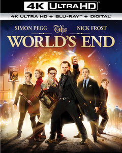 The World's End iTunes 4K code