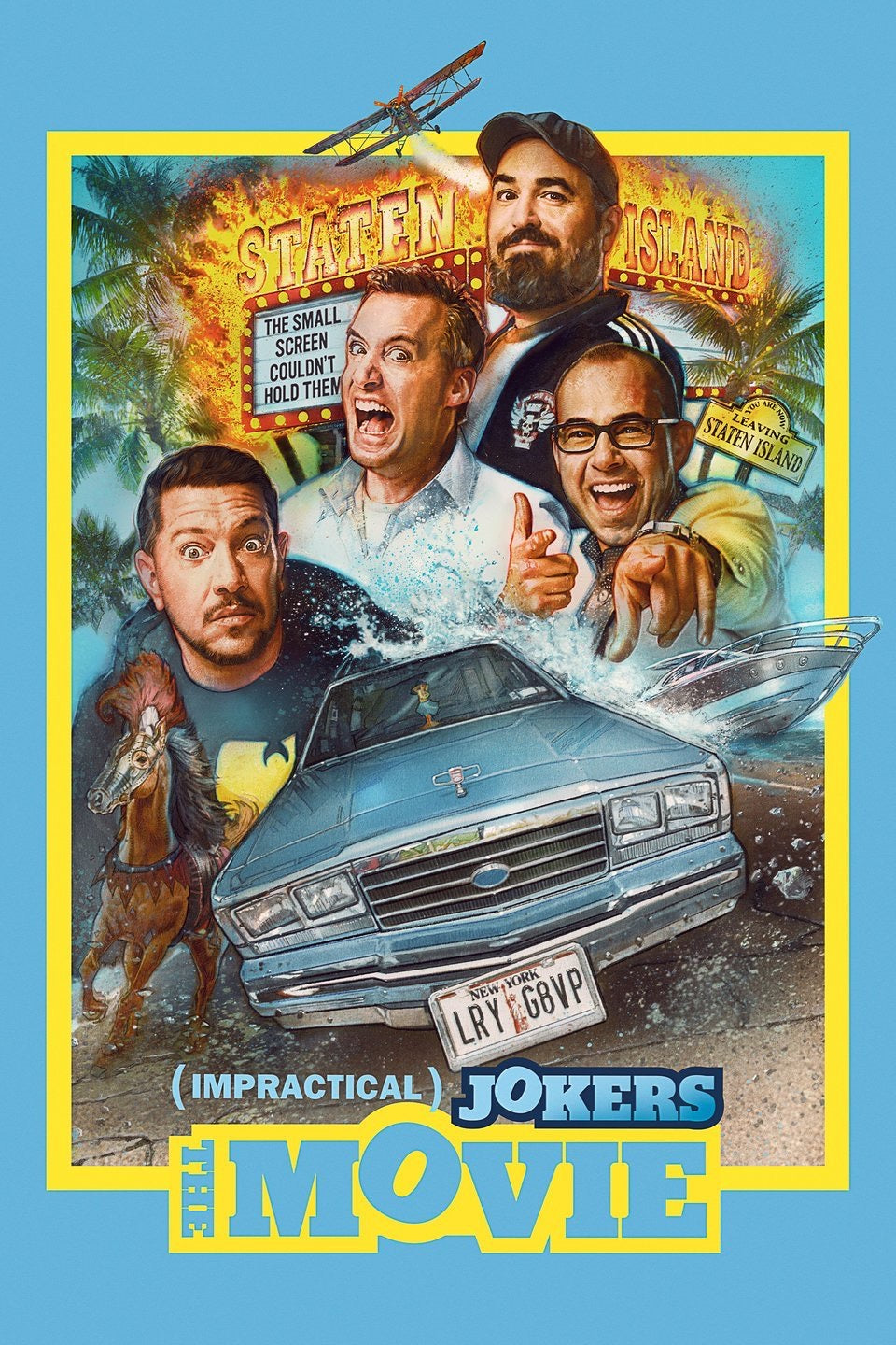 Impractical Jokers: The Movie (2020) Vudu or Movies Anywhere SD code