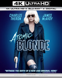 Atomic Blonde (2017) Vudu or Movies Anywhere 4K redemption only