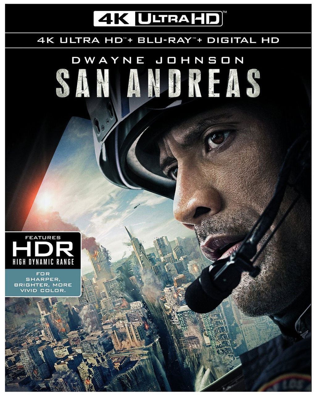 San Andreas (2015) Vudu or Movies Anywhere 4K code