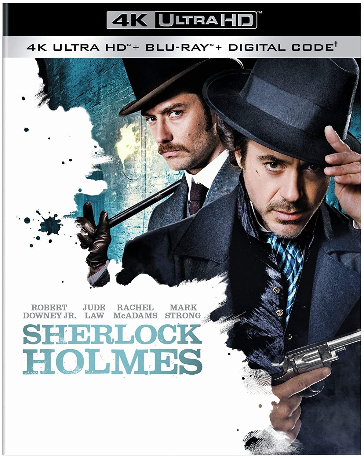 Sherlock Holmes (2009) Vudu or Movies Anywhere 4K code