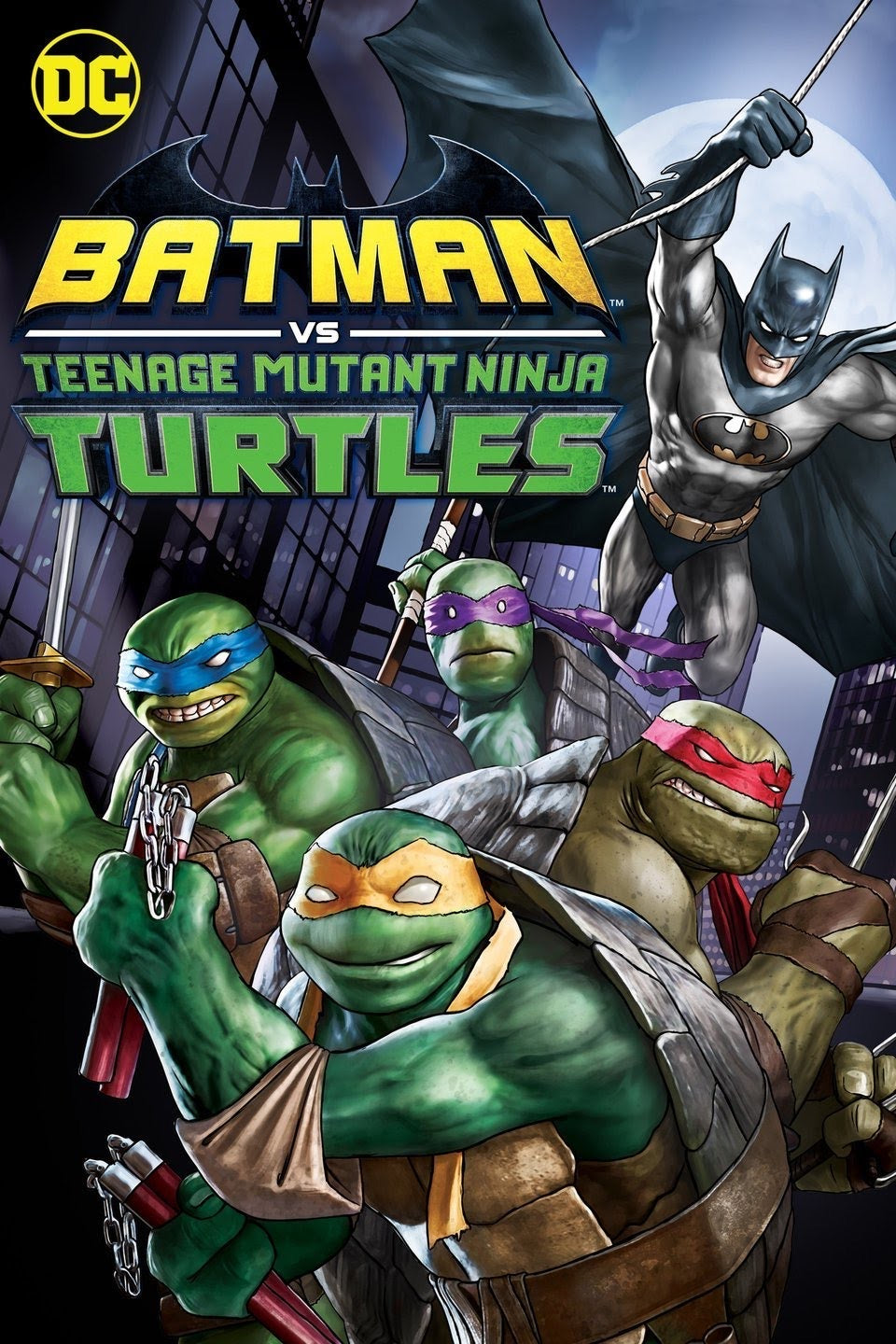 Batman Vs. Teenage Mutant Ninja Turtles (2019) Vudu or Movies Anywhere HD code