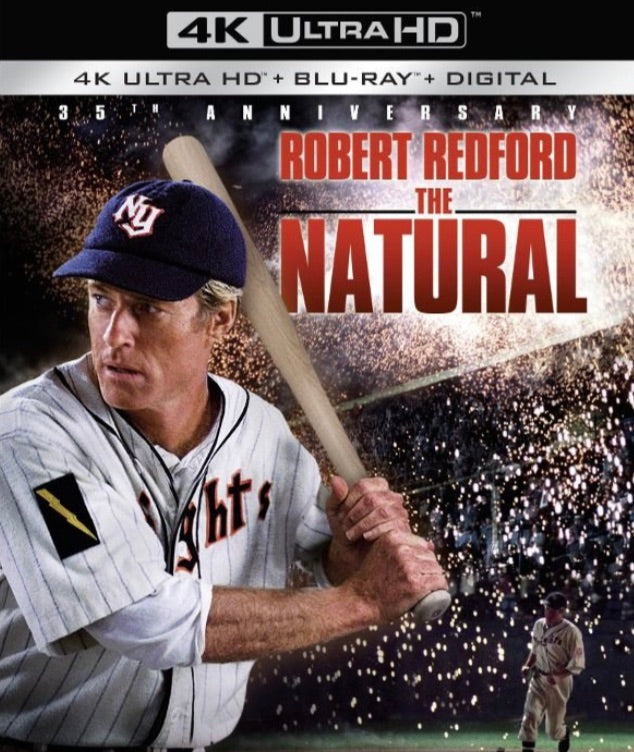 The Natural (1984) Vudu or Movies Anywhere 4K code