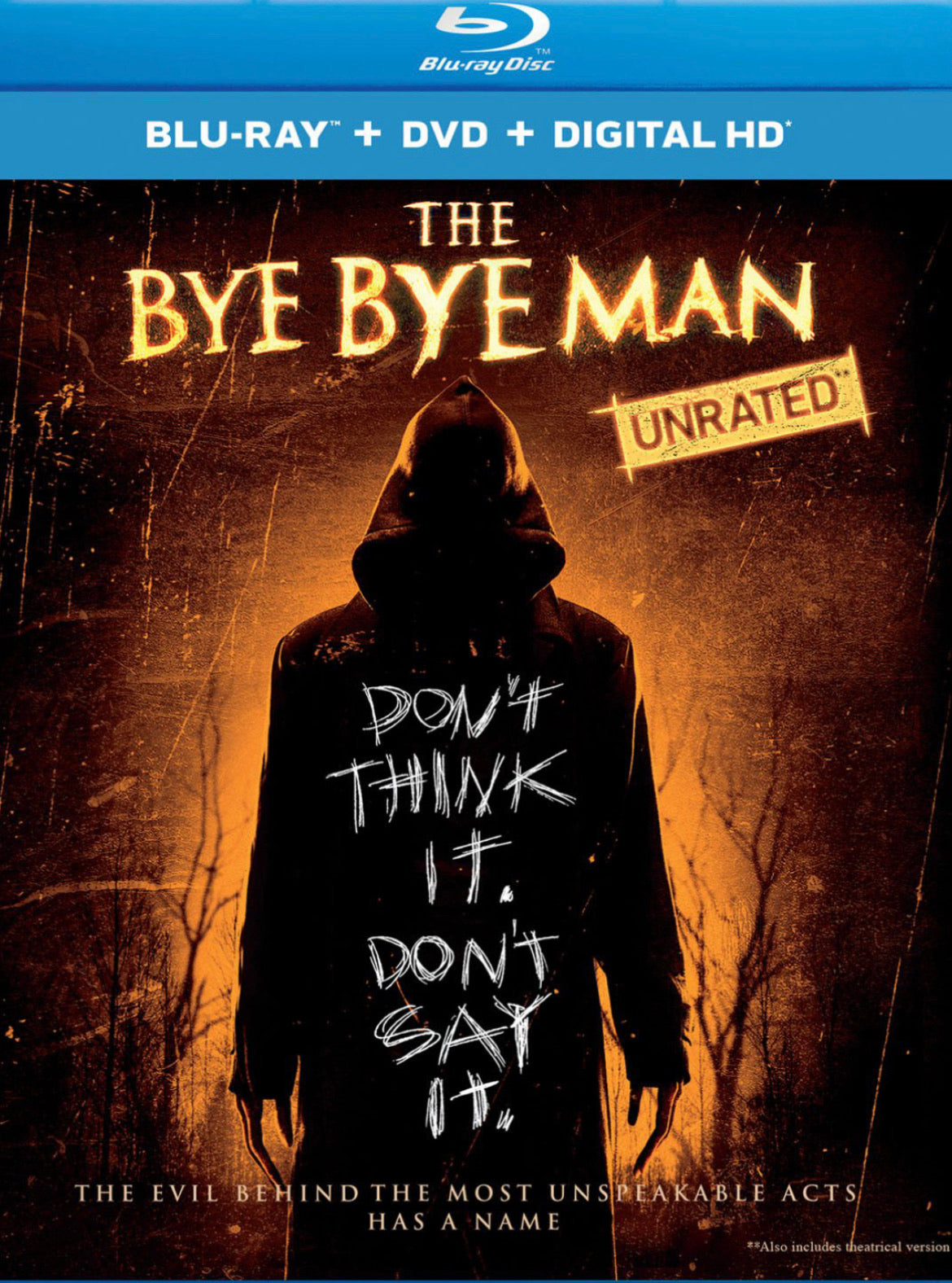The Bye Bye Man Unrated (2017) Vudu HD redemption only