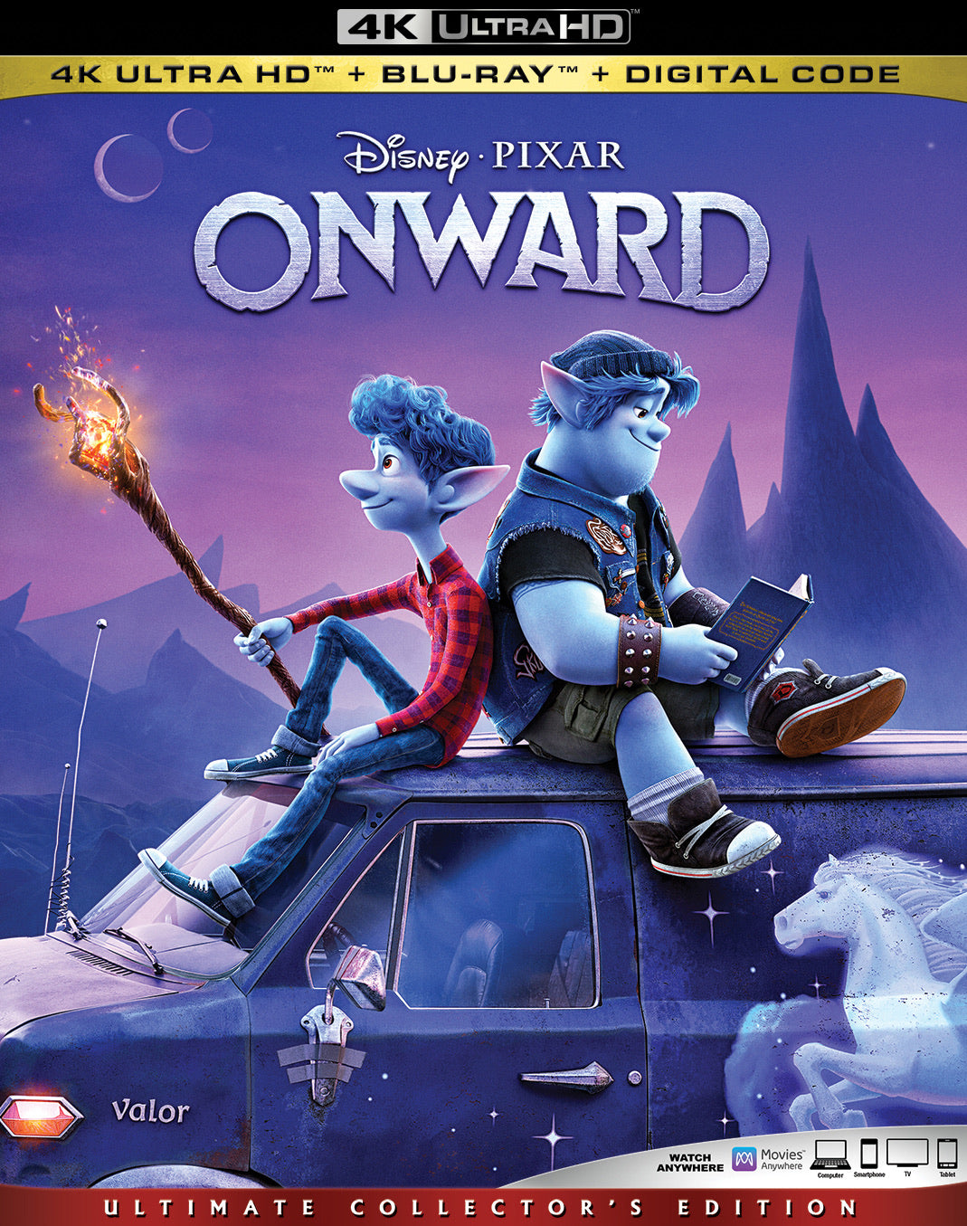 Onward (2020) Vudu or Movies Anywhere 4K redemption only