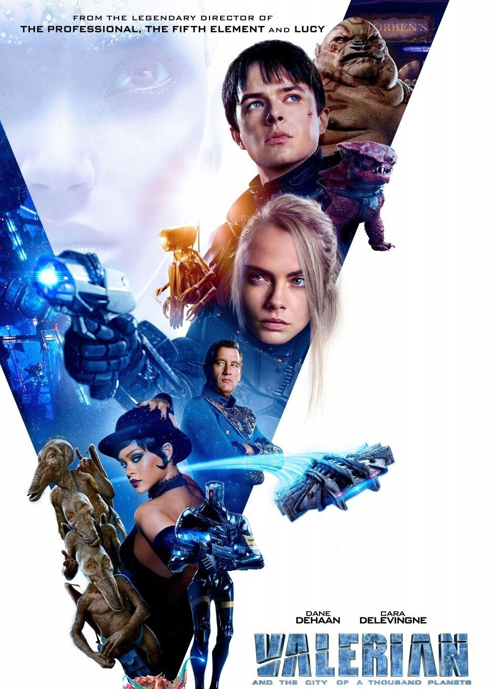 Valerian and the City of a Thousand Planets (2017) Vudu HD code [From 4K, HD redemption]