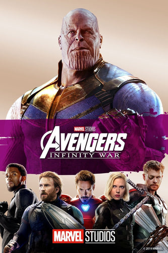 Avengers Infinity War (2018) Vudu or Movies Anywhere HD redemption only