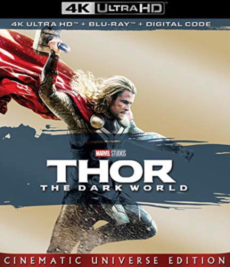 Thor: The Dark World (2013) Vudu or Movies Anywhere 4K redemption only