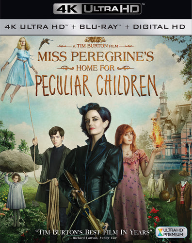 Miss Peregrine's Home For Peculiar Children iTunes 4K or Movies Anywhere HD code