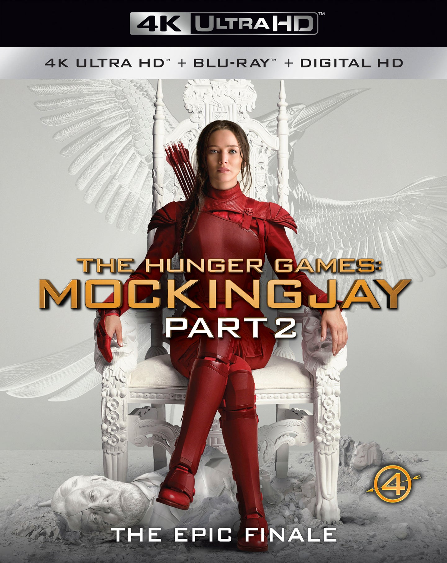 The Hunger Games: Mockingjay Part 2 (2015) Vudu 4K redemption only