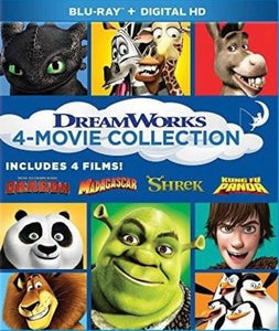 DreamWorks 4-Movie Collection Vudu or Movies Anywhere HD code