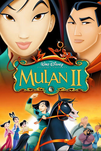 Mulan II (2005) Vudu or Movies Anywhere HD redemption only