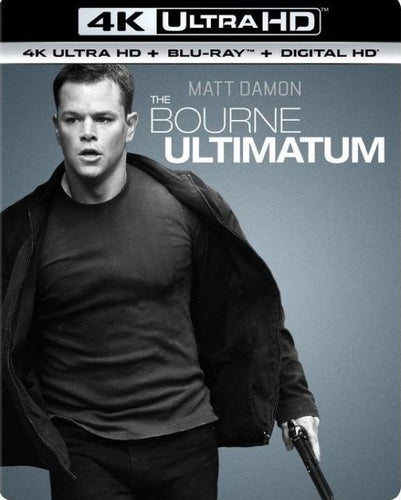 Bourne Ultimatum Vudu 4K redemption only