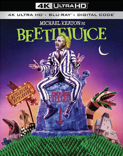 Beetlejuice (1988) Vudu or Movies Anywhere 4K code