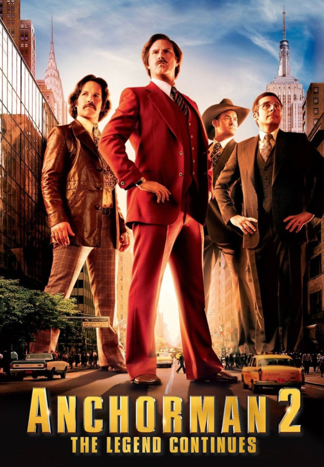 Anchorman 2: The Legend Continues (2013) Vudu HD redemption only