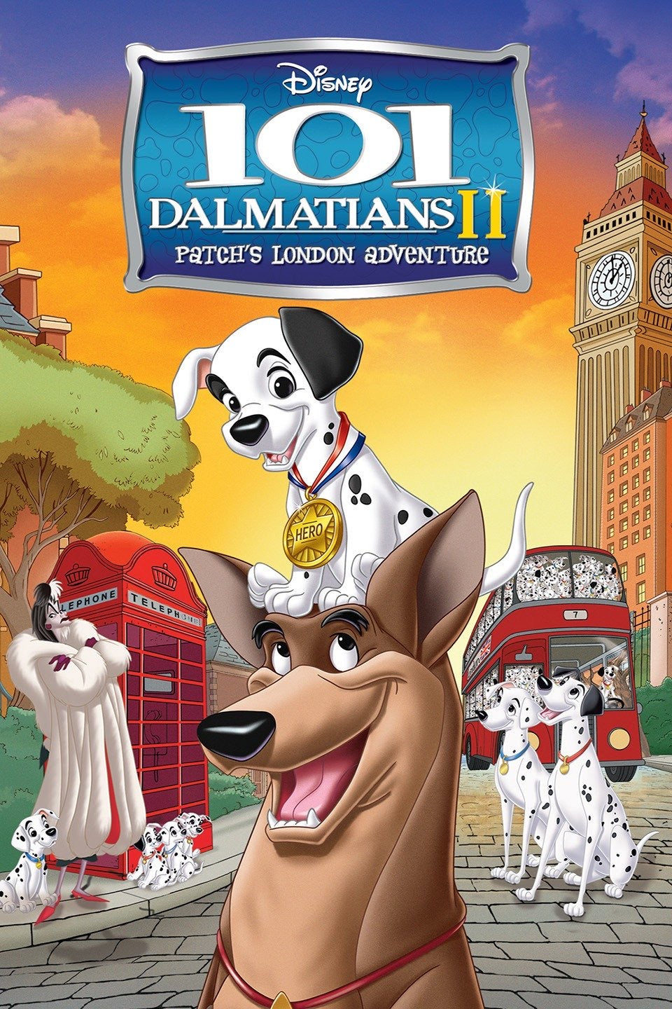 101 Dalmatians II: Patch's London Adventure Vudu or Movies Anywhere HD redemption only