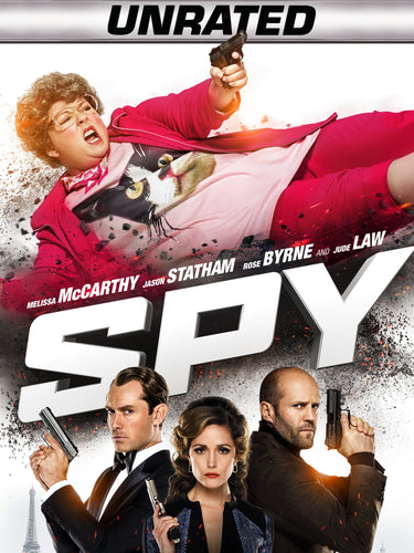 Spy: Unrated Edition (2015) Vudu or Movies Anywhere HD code