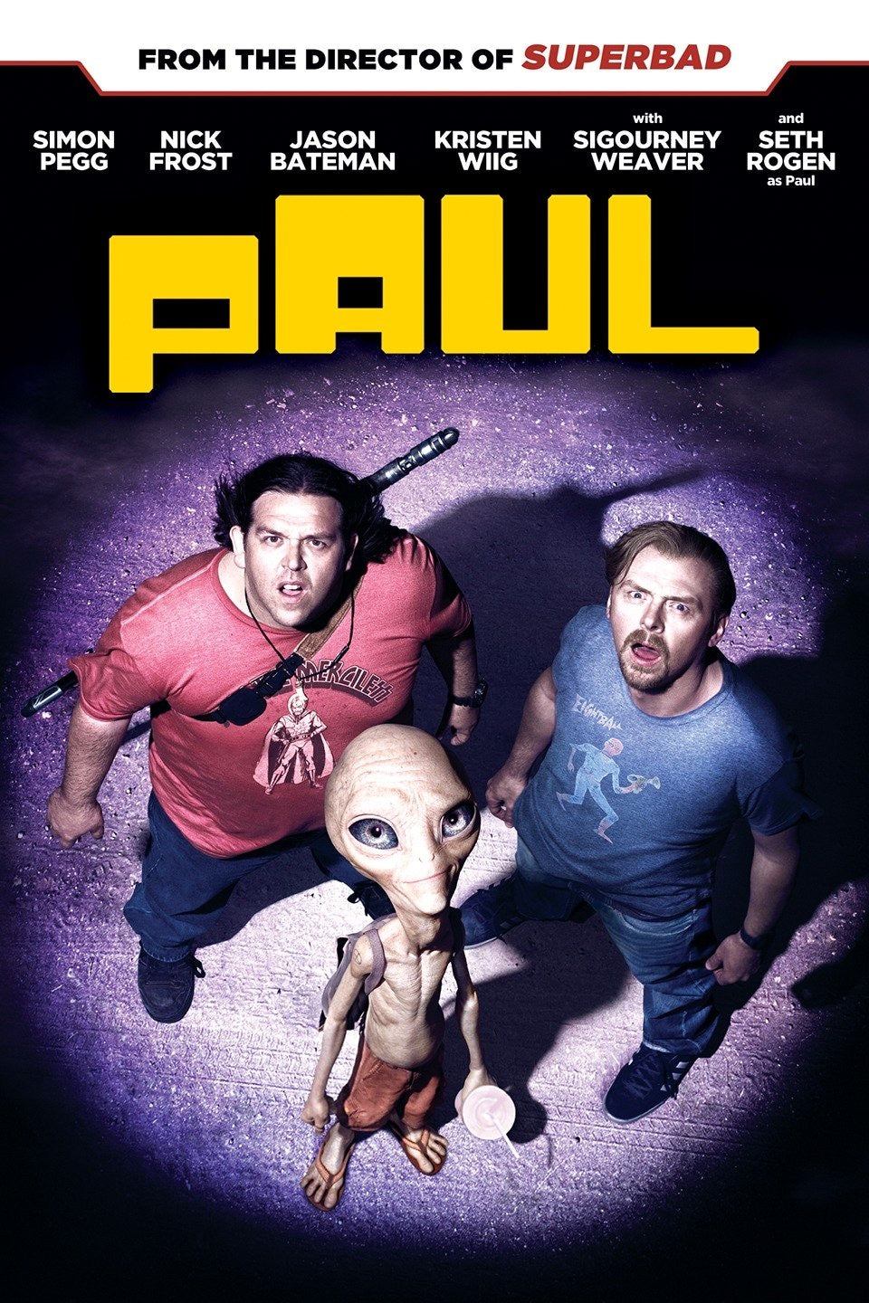 Paul (unrated) Vudu or Movies Anywhere HD redemption only