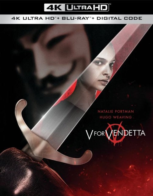 V For Vendetta (2005) Vudu or Movies Anywhere 4K code