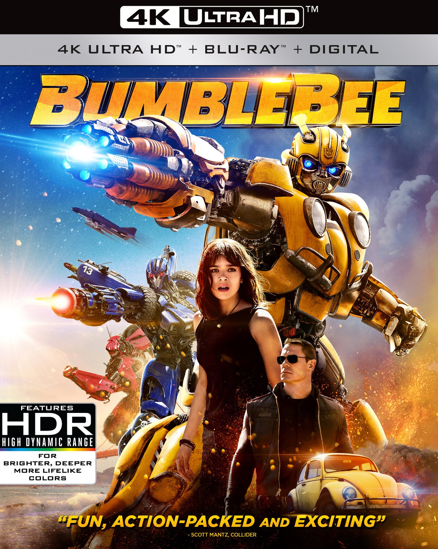 Bumblebee (2018) Vudu 4K redemption only