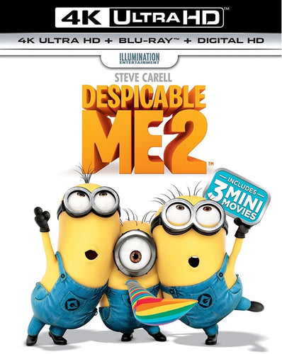 Despicable Me 2 (2013) iTunes 4K redemption only